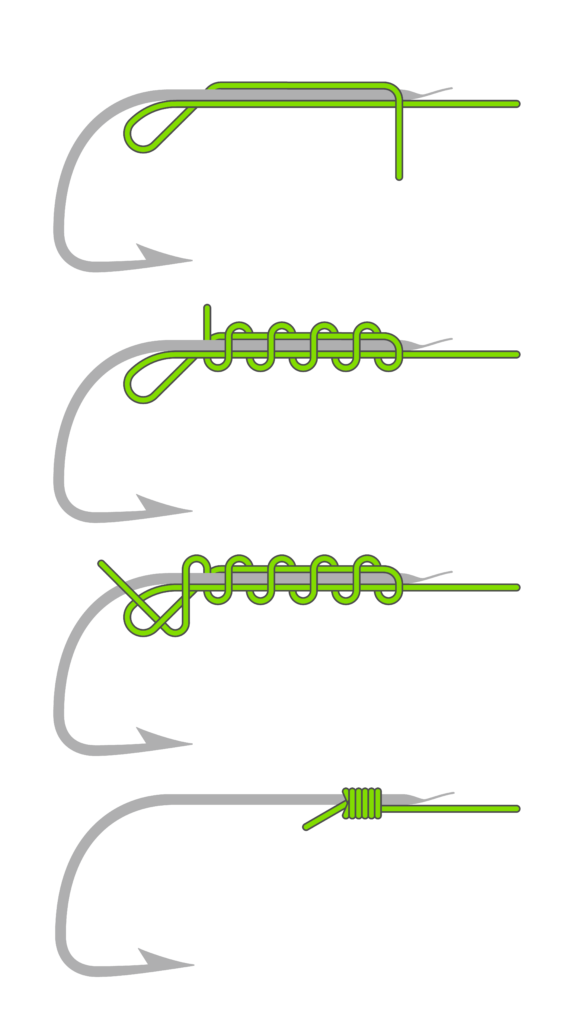 Plättchenhaken-Knoten