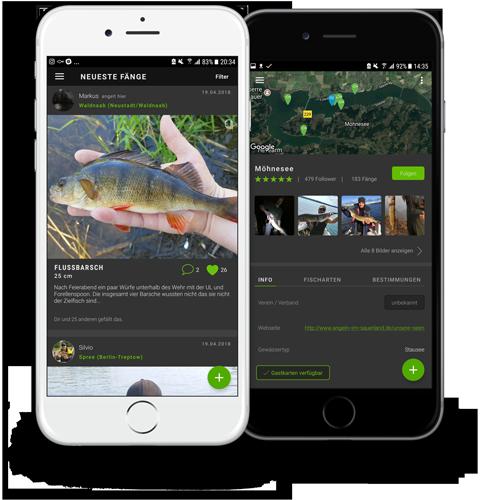 ios android app für angler